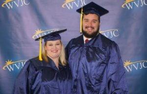 Charles Gordon and Rebecca Spry WVJC Graduation 2018