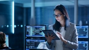 Earning Her Cybersecurity Certification Online in Pittsburgh PA
