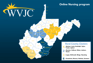 Online Nursing Program Map